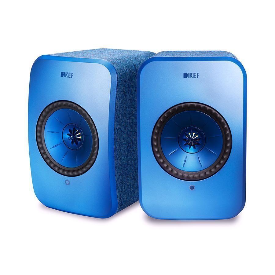LSX [BL:ブルー] KEF [ケーイーエフ] アクティブスピーカー [ペア]