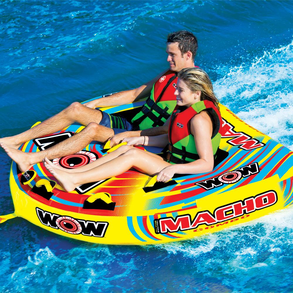 バナナボート トーイングチューブ マリンスポーツ WOW (ワオ) マッチョ 2P 2人乗り
