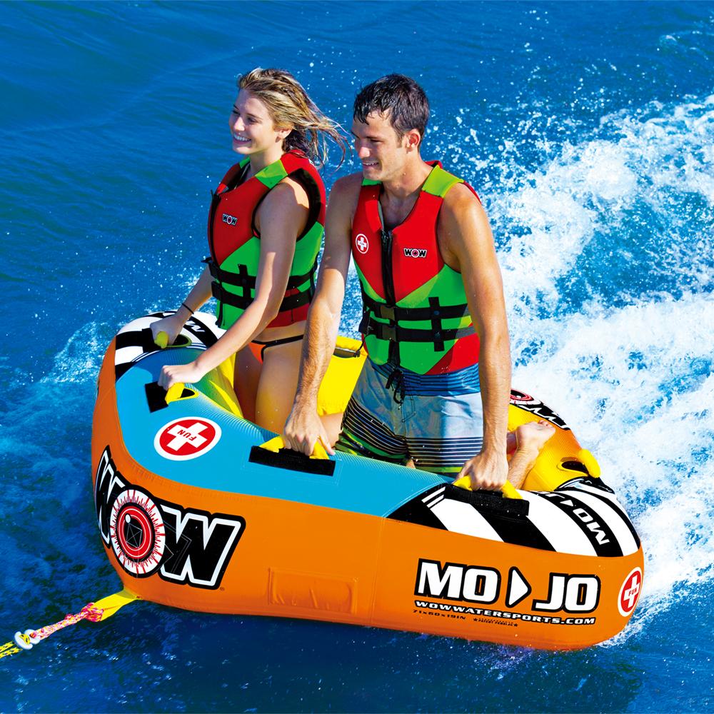 バナナボート トーイングチューブ マリンスポーツ WOW (ワオ) モジョ 2P 2人乗り
