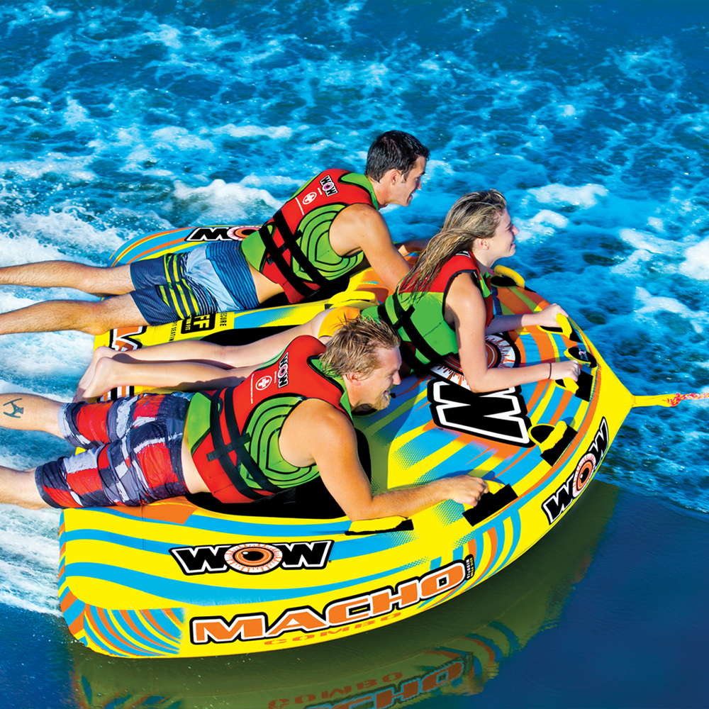 バナナボート トーイングチューブ マリンスポーツ WOW (ワオ) マッチョ 3P 3人乗り