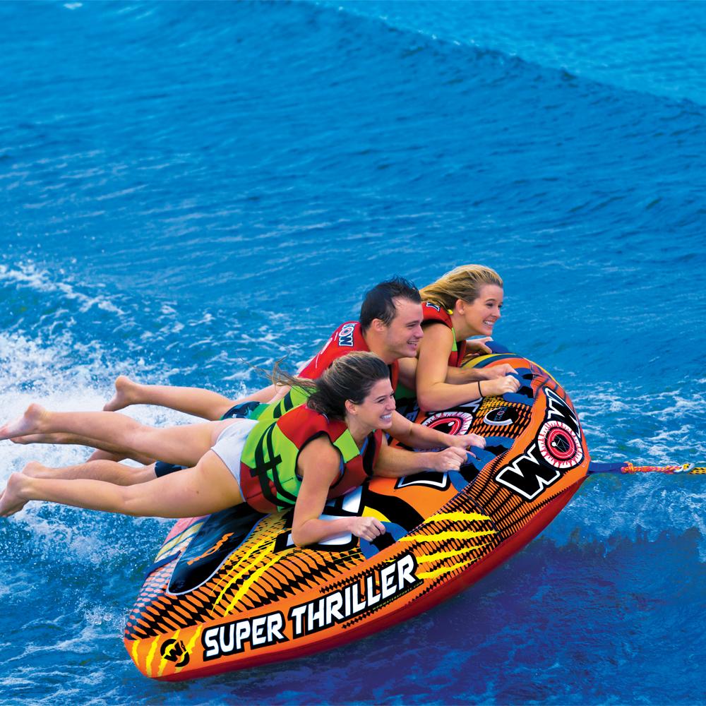 トーイングチューブ バナナボート 3人乗り WOW (ワオ) スーパースリラー