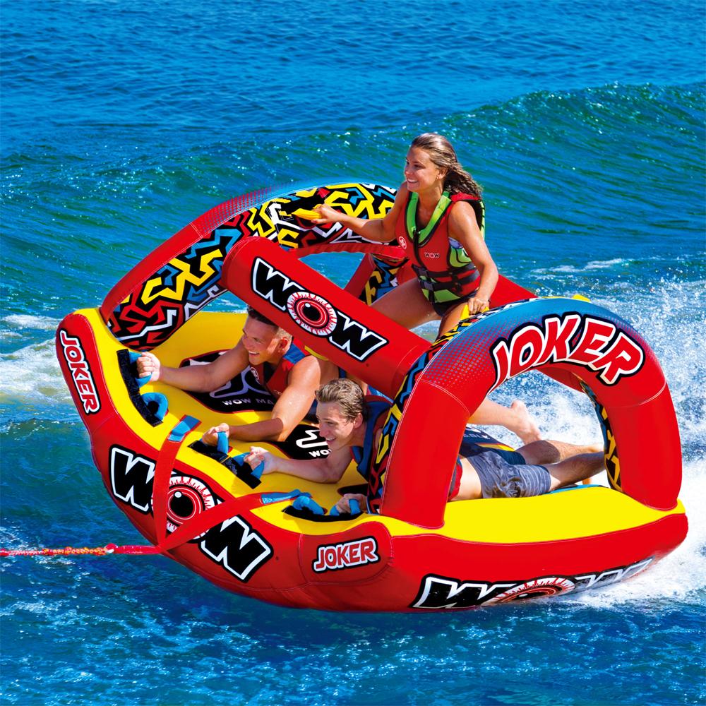 トーイングチューブ バナナボート WOW (ワオ) ジョーカー 3人乗り