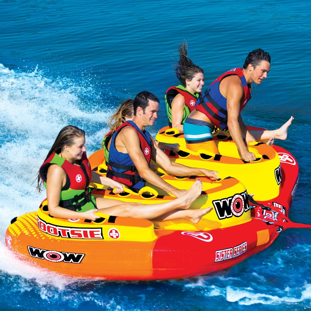トーイングチューブ バナナボート ウォータートイ WOW (ワオ) トッツィー 5人乗り