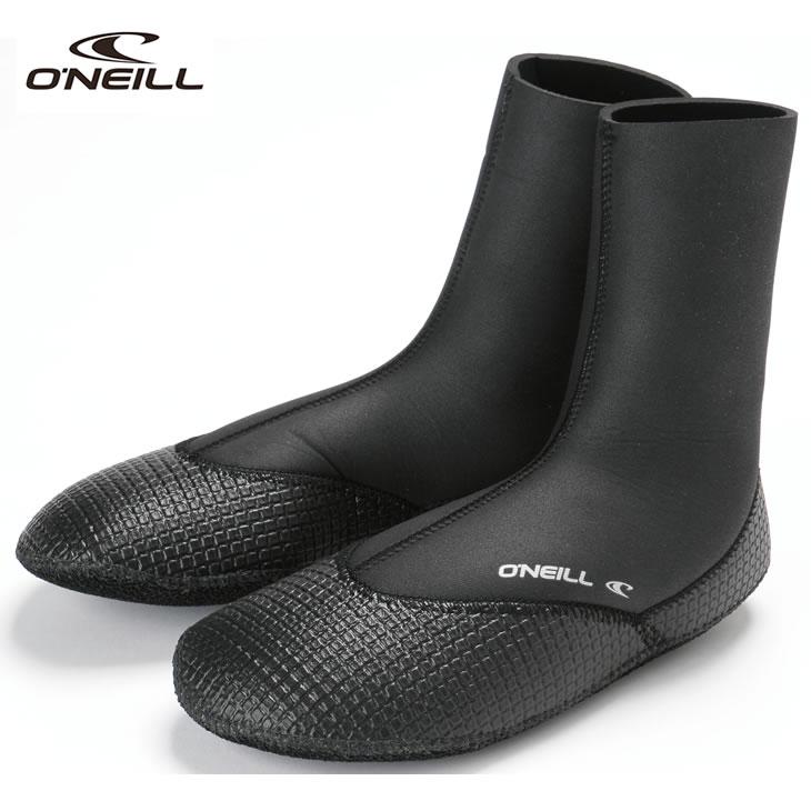 マリンソックス サーフィン ウォーターシューズ 防寒 ブーツ O'NEILL (オニール) サイコアーマーソックス4 先丸タイプ