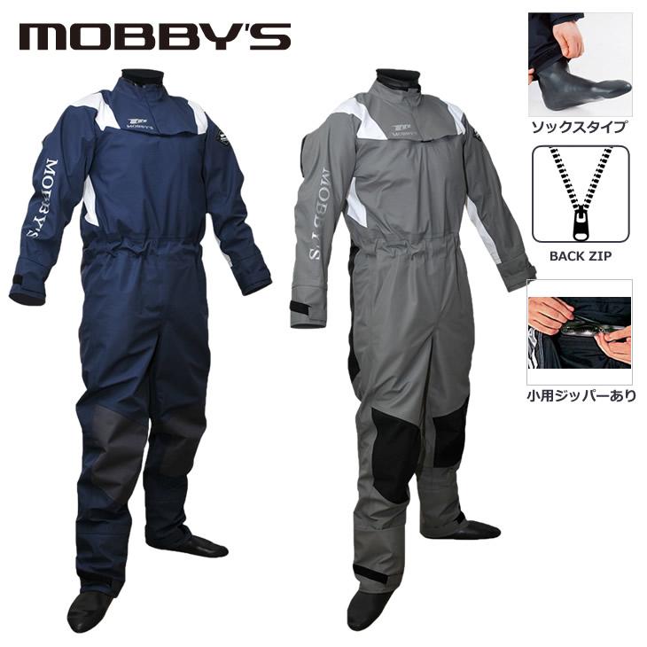 ドライスーツ ソックスタイプ マリンスポーツ セーリング 防寒 防水MOBBY'S モビーズ ウィンド ドライスーツ 【小用ジッパーあり】