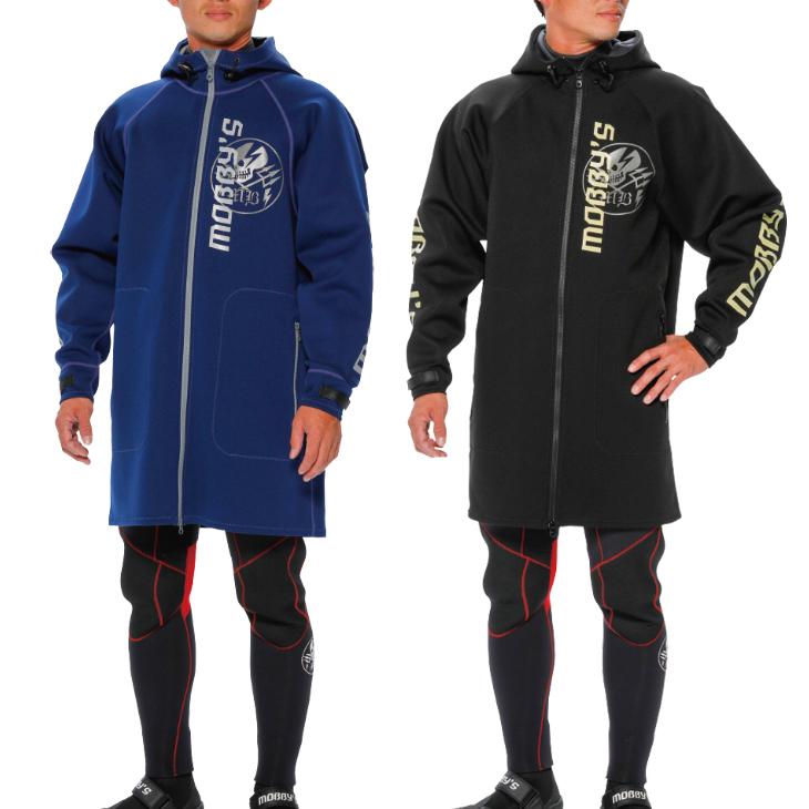 マリンコート ジャケット 防寒 防風 ウェイクボード ボート ジェットスキー MOBBY'S モビーズ ネオジャケット