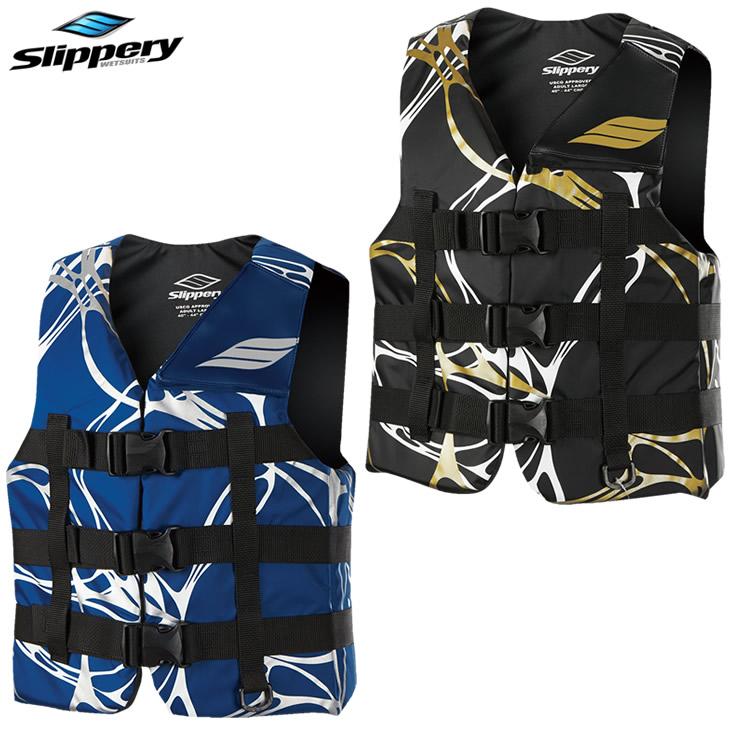 SUP ライフジャケット メンズ レディース ジェットスキー 救命胴衣 ナイロン マリンウエア SLIPPERY スリッパリー フェニックスベスト