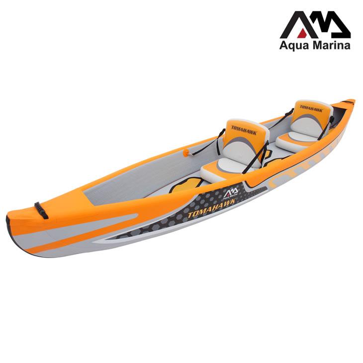 カヤック インフレータブル ボート 2人乗り AQUA MARINA (アクアマリーナ) トマホーク カヤック