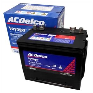 ACデルコ ボイジャーバッテリー 80A 12V