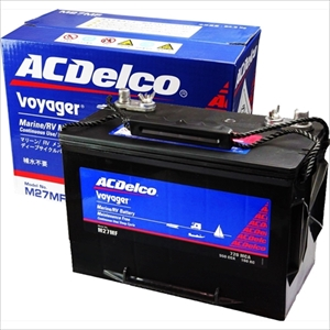 ACデルコ ボイジャー ディープサイクルバッテリー 105A 12V