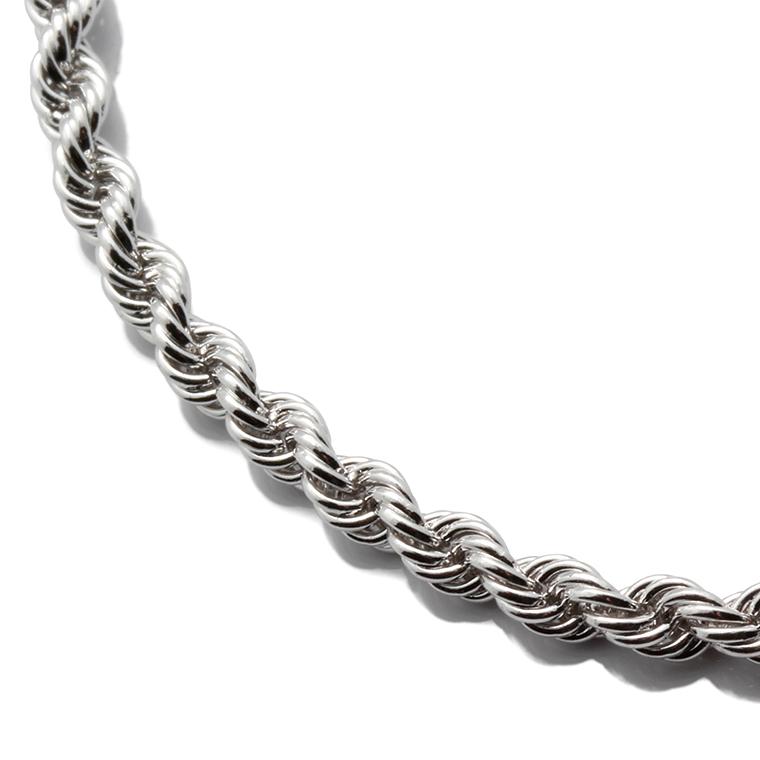 【ROPE DESIGN】シルバーロープネックレス (60cm) SJ18 HFR-05※あす楽対応商品