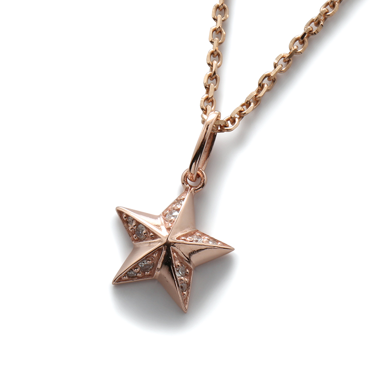 【AVALANCHE ORIGINAL JEWELRY】ダイヤモンド 10K ローズゴールドペンダントヘッド(0.075ct)3-13724-03