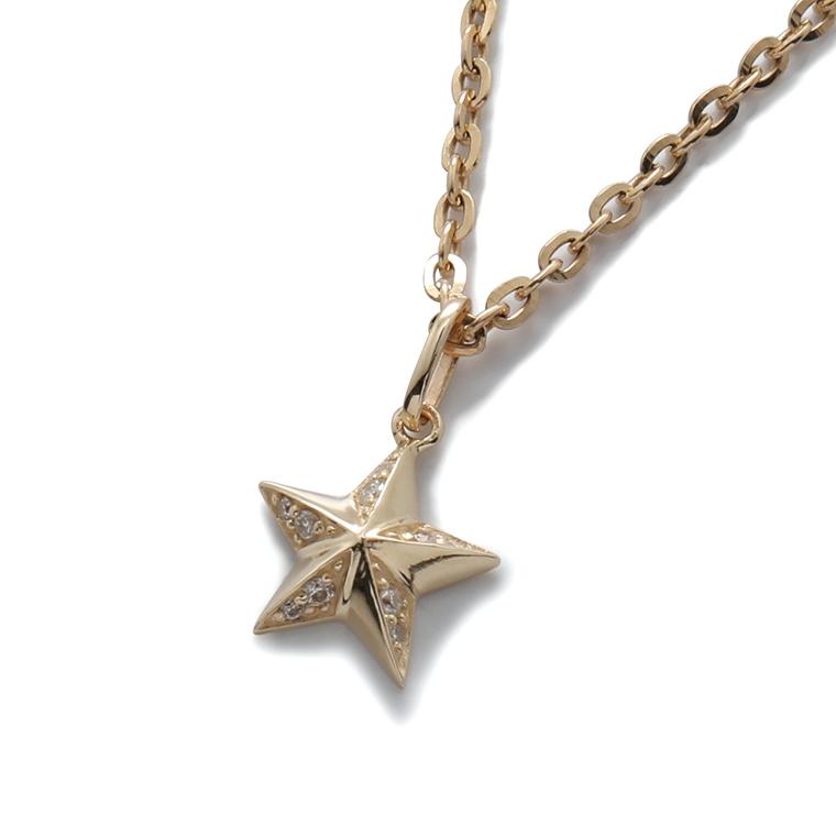 【AVALANCHE ORIGINAL JEWELRY】ダイヤモンド 10K イエローゴールドペンダントヘッド(0.075ct)AJ18 3-13724-01