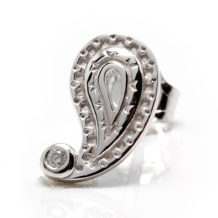 お気にいる ac ダイヤモンド 0.01ct 10K ホワイトゴールドピアス4-9691-03 XJ19 JEWELRY:PAISLEY DESIGN AVALANCHE [ギフト/プレゼント/ご褒美] ORIGINAL