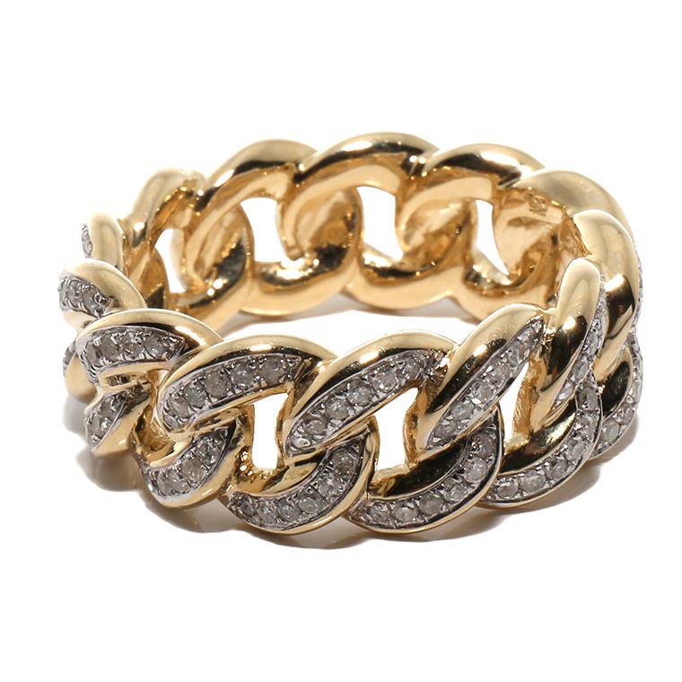 ダイヤモンド 10K イエローゴールドリング 0.87ct SIZE: 12号・17号・19号・23号RM7047 SJ19