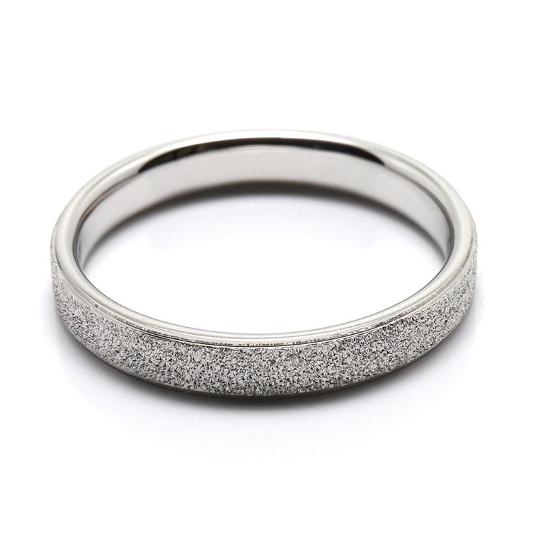 【マリッジリング(結婚指輪):メンズ】プラチナリング※スターダスト加工 KSIMA-006M ※4週間前後でお届け
