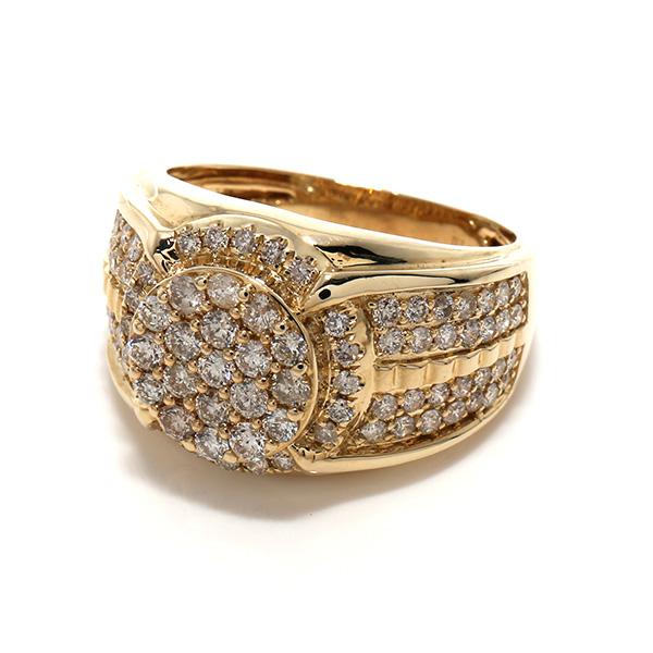 ダイヤモンド 10K イエローゴールドリング1.75ct SIZE: 21号 0325821-ALY SJ19