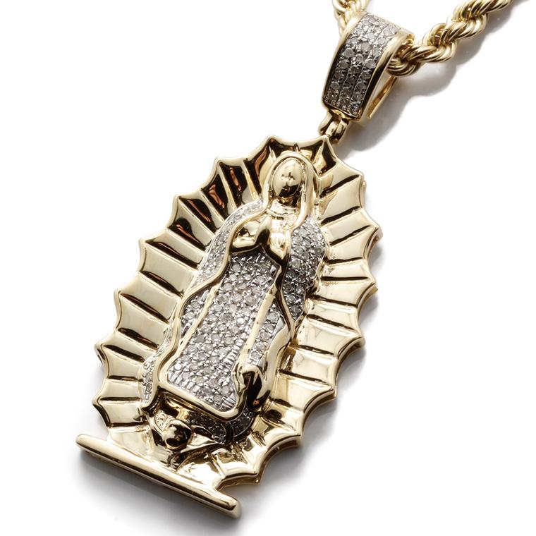 ダイヤモンド 10K イエローゴールドペンダントヘッド(0.40ct)SP01398