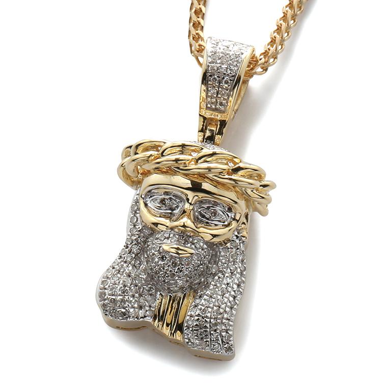 ダイヤモンド 10K イエローゴールドペンダントヘッド(0.33ct)JP1001Y