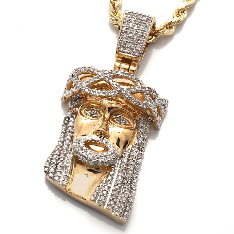 ダイヤモンド 10K イエローゴールドペンダントヘッド(0.50ct)AJ18 JP1130Y