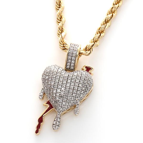 ダイヤモンド(0.45ct) 10K イエローゴールドペンダントヘッドSC5941Y SJ19