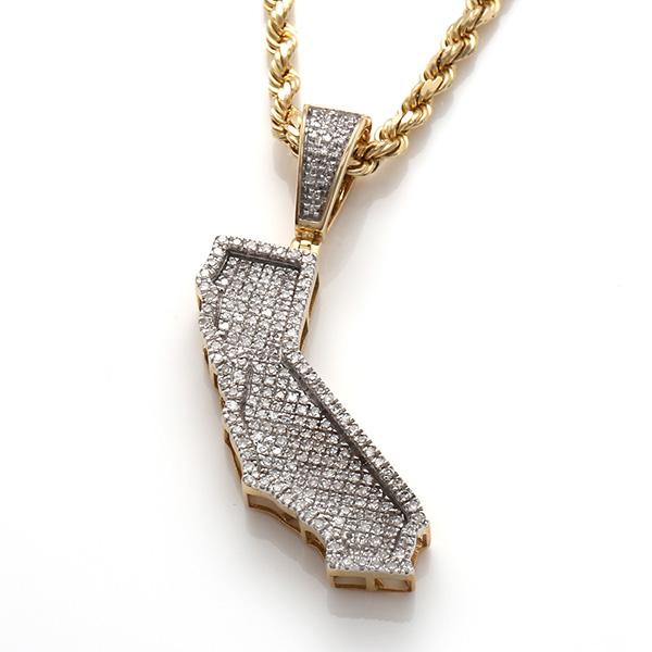 ダイヤモンド(0.55ct) 10K イエローゴールドペンダントヘッド108562