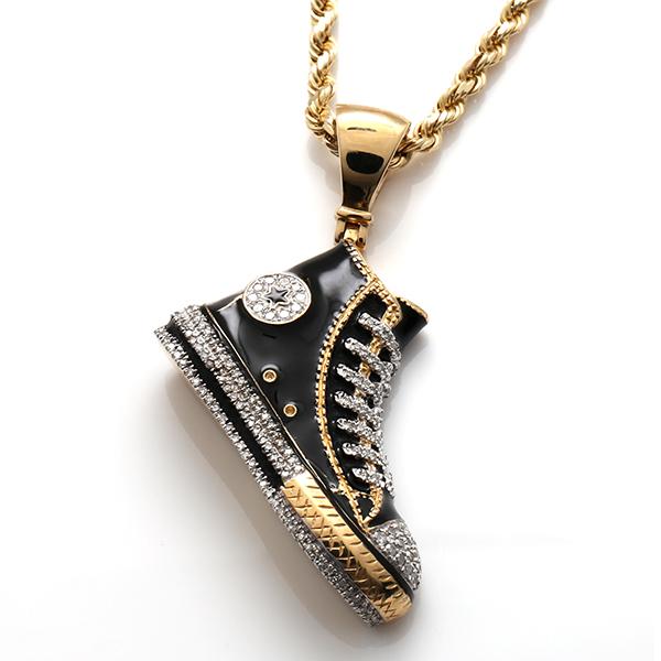 ダイヤモンド(0.47ct) 10K イエローゴールドペンダントヘッドP7103A