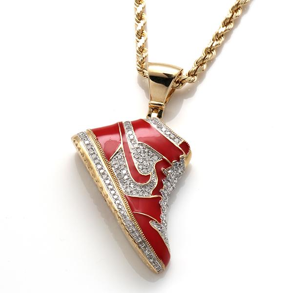 ダイヤモンド(0.60ct) 10K イエローゴールドペンダントヘッドP7195