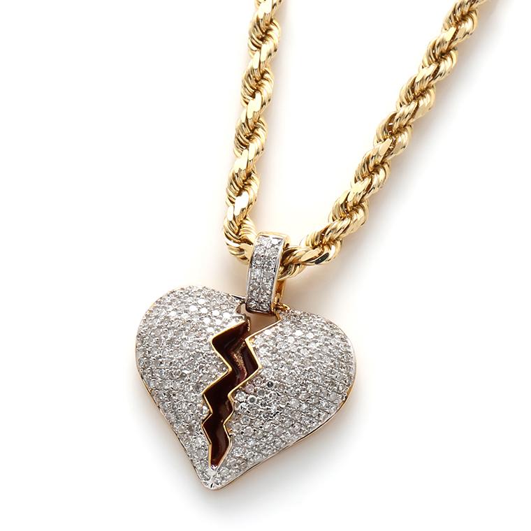 ダイヤモンド(0.50ct) 10K イエローゴールドペンダントヘッドSC5927Y