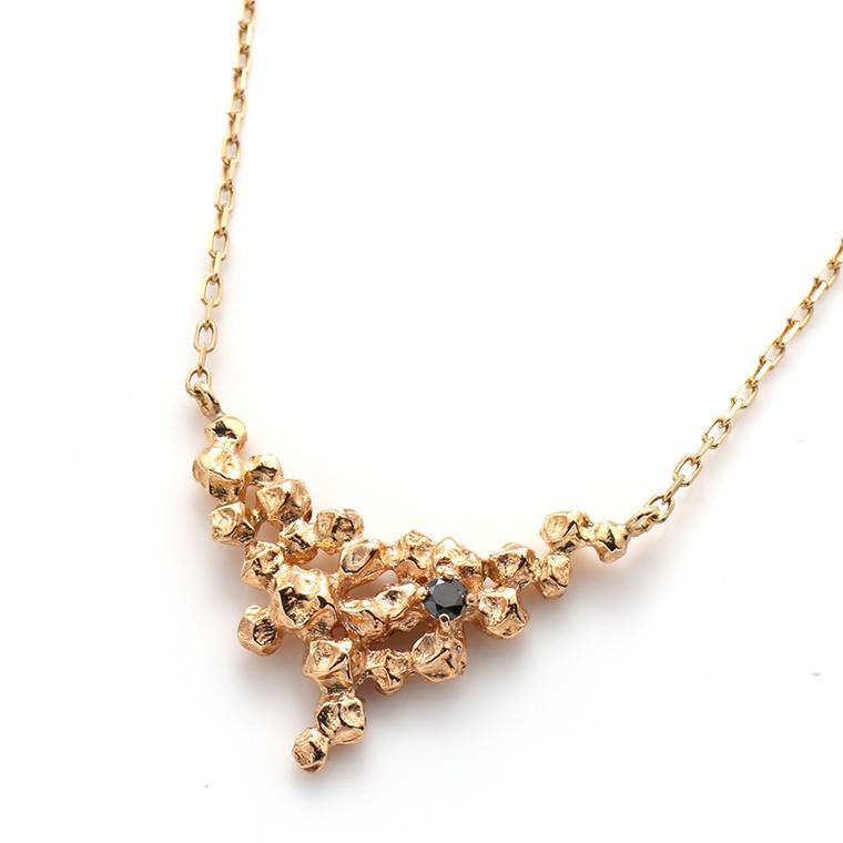 ダイヤモンド 10Kイエローゴールドペンダントヘッド&ネックレス(45cm)TDA8525J-31