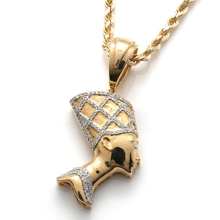 ダイヤモンド10K イエローゴールドペンダントヘッドSP01333