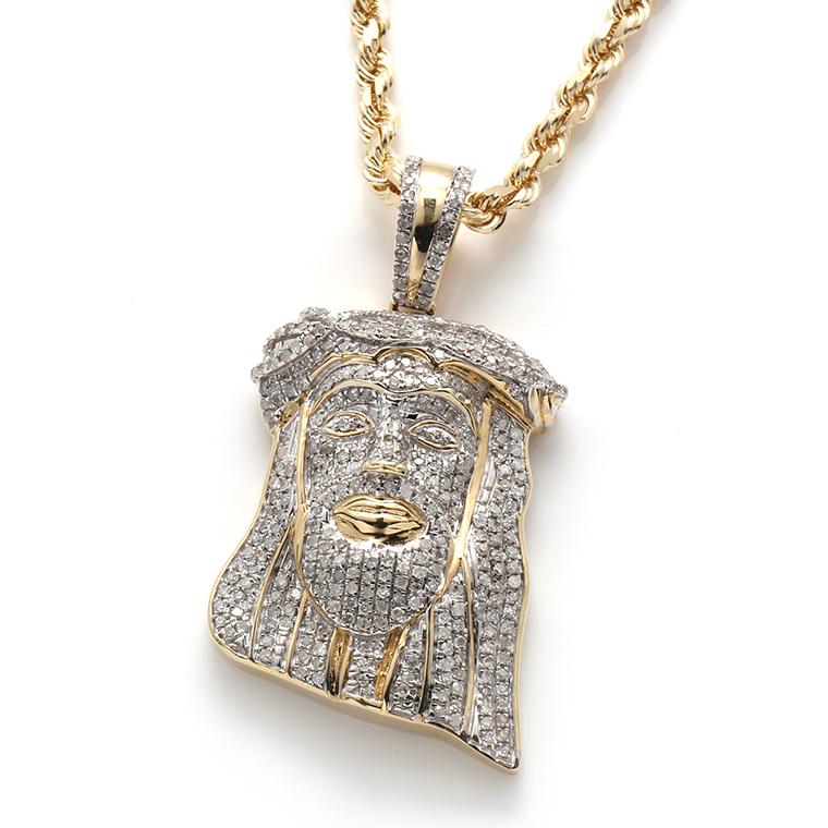 ダイヤモンド10K イエローゴールドペンダントヘッドSP01421
