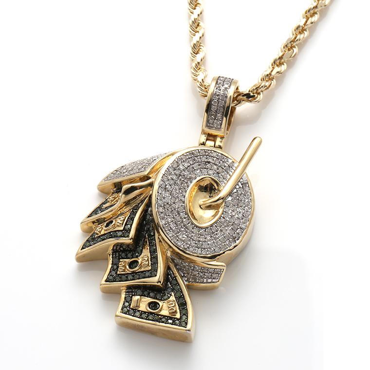 ダイヤモンド10K イエローゴールドペンダントヘッドSP02245