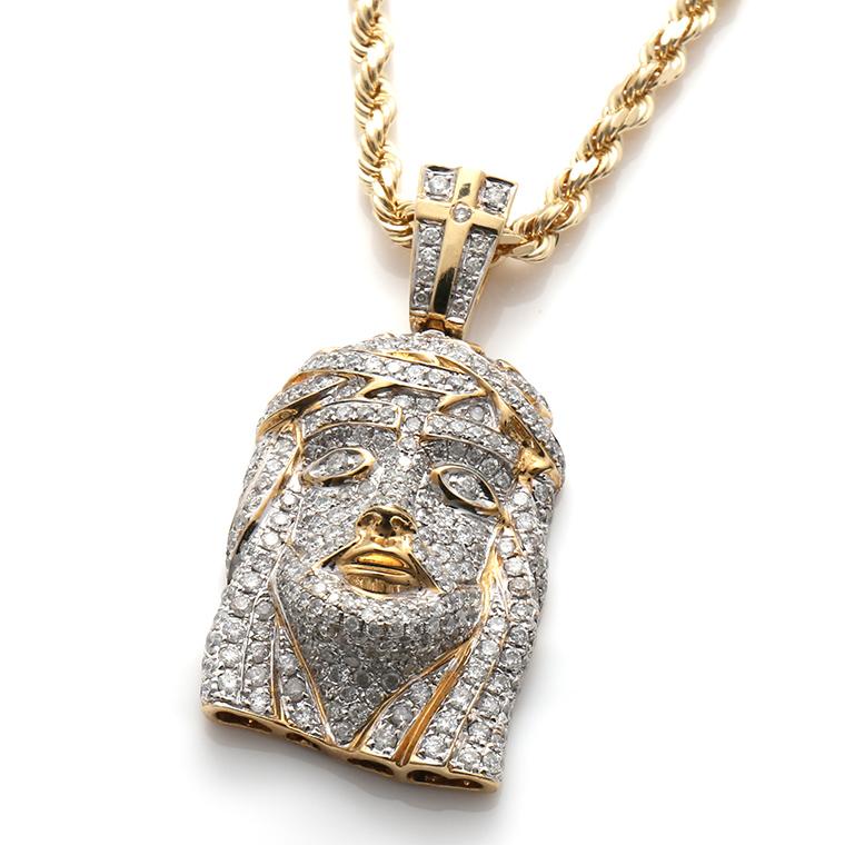 ダイヤモンド10K イエローゴールドペンダントヘッドACH3313Y
