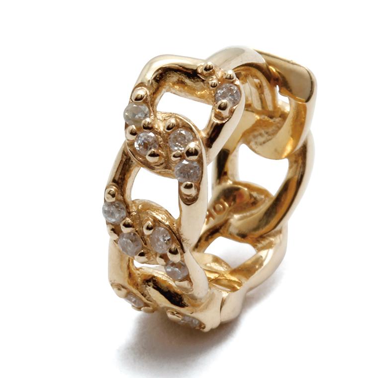 ダイヤモンド 10K イエローゴールド ピアス(0.055ct) 4-9568-01