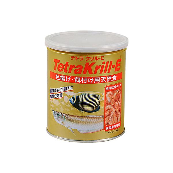 スペクトラムブランズジャパン株式会社 美品 テトラ 格安店 餌 クリルE100g