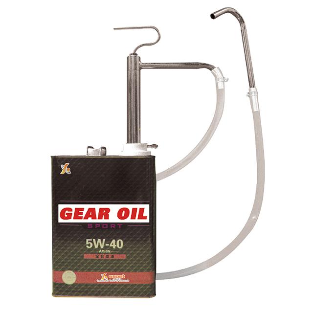 4リットル缶に取付けて使用します ギヤオイル 舗 ミッションオイル デフオイル 流行 エンジンオイル 101402-J ATF等の給油作業に最適 4L缶用オイルポンプ