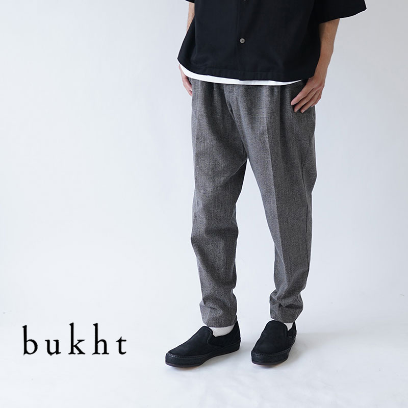 bukht / ブフト / パンツ / 2TUCK L POCKET TROUSERS -HIGH COUNT FAB- / BV-62806