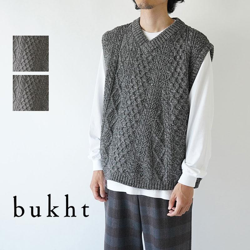 【50%OFFセール!】bukht / ブフト / ベスト / THE CRAZY FISHERMAN VEST / BV-16305