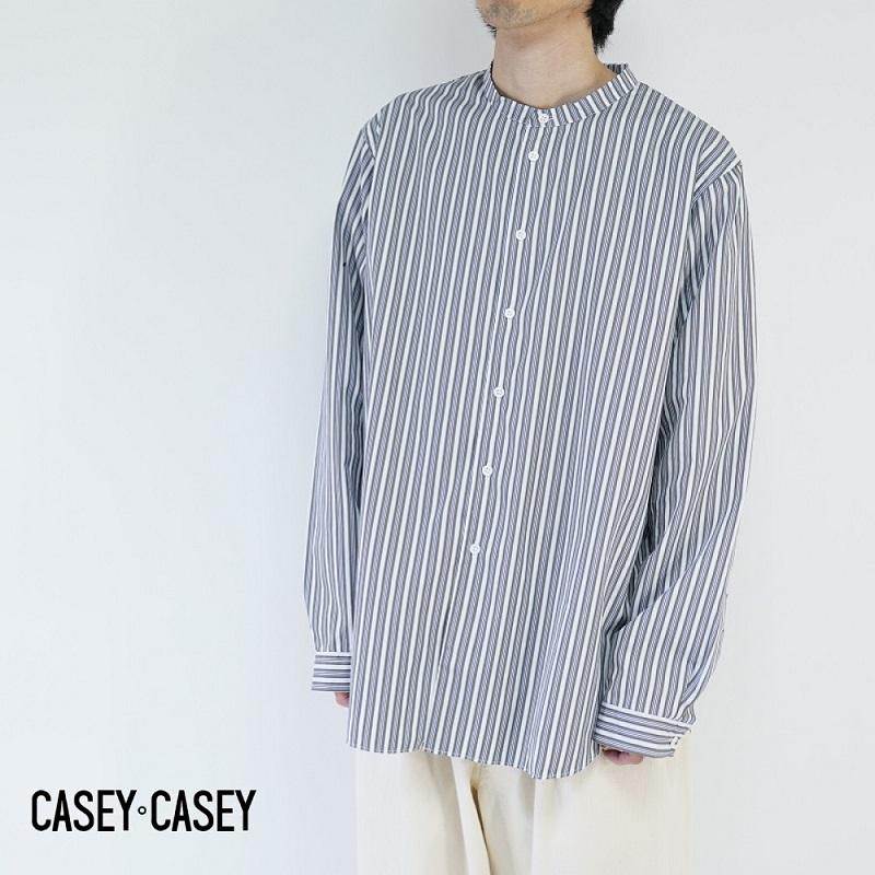【期間限定ポイント10倍!】CASEY CASEY / ケイシーケイシー / TROPIC SHIRT STRIPE / 14HC166