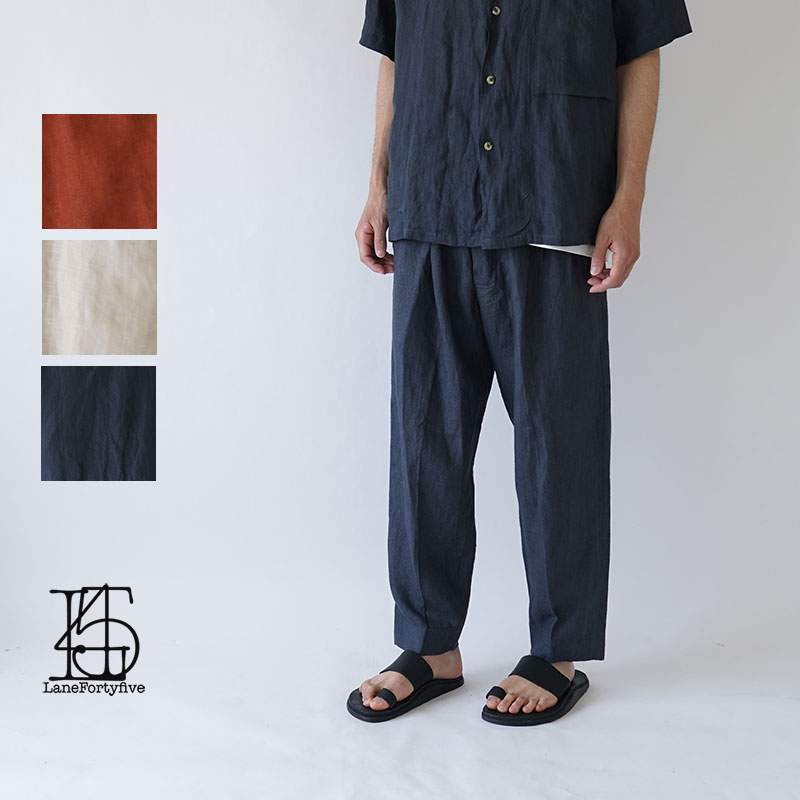 LANE FORTY FIVE / レーン45 / 2019SS / TROUSERS / M508TH