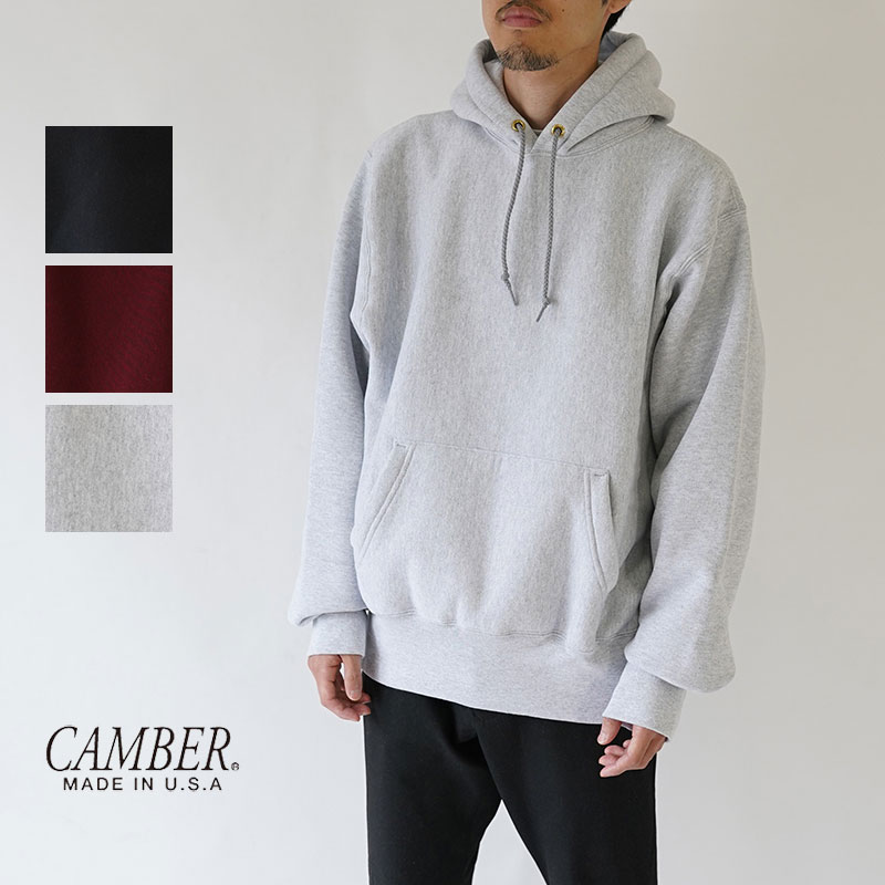 【30%OFFセール!】CAMBER / キャンバー / パーカー / CROSS KNIT PULLOVER / CB190CT12040