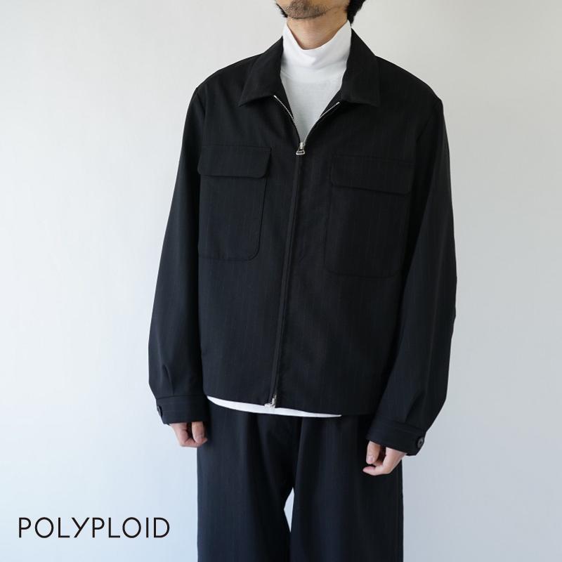【期間限定ポイント10倍!】POLYPLOID / ポリプロイド / BOMBER JACKET B / 09-B-04