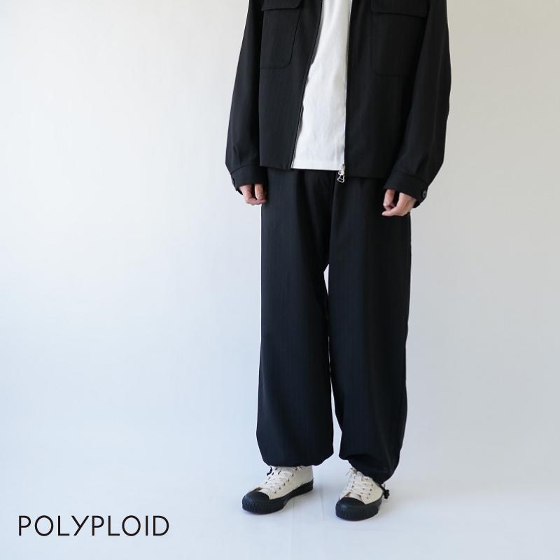 【期間限定ポイント10倍!】POLYPLOID / ポリプロイド / OVER PANTS B / 10-B-04
