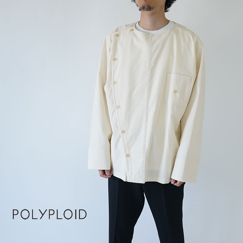 POLYPLOID / ポリプロイド / MILITARY SHIRT A / 19FW-02-A