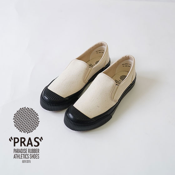 PRAS / スニーカー / モールドスリッポン / MOURUD SLIPON / KINARI×BLACK