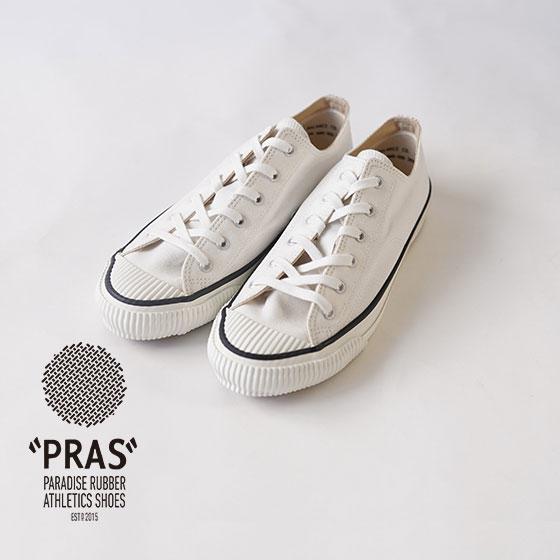 PRAS / スニーカー / シェルキャップカラーロウ / SHELLCAP COLOR LOW / WHITE×WHITE