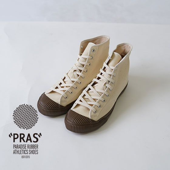 PRAS / スニーカー / 2019SS / シェルキャップハイ / SHELLCAP HI / BROWN