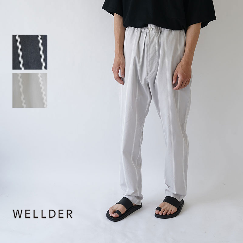 【50%OFFセール!】WELLDER / ウェルダー / 2019AW / パンツ / DRAWSTRING EASY TROUSERS / WM19FPT08