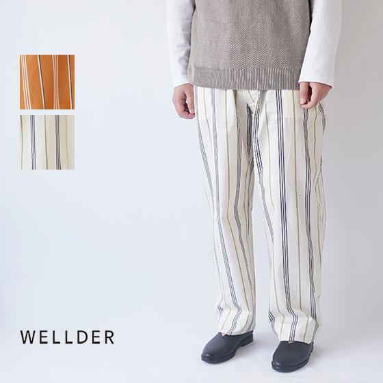 【50%OFF セール!】WELLDER / ウェルダー / 2019SS / トラウザーズ / DRAWSTRING EASY TROUSERS / WM19SPT11